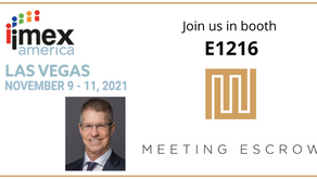 Join us IN PERSON at IMEX America - booth E1216