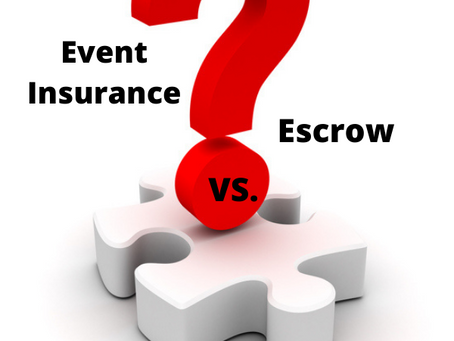 3 Things every planner should know about event Insurance vs. deposit escrow accounts