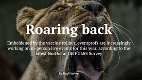 Roaring back:  #Eventprofs ramping up for live events