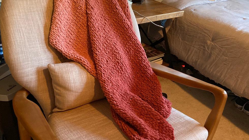 Ombre Baby Blanket