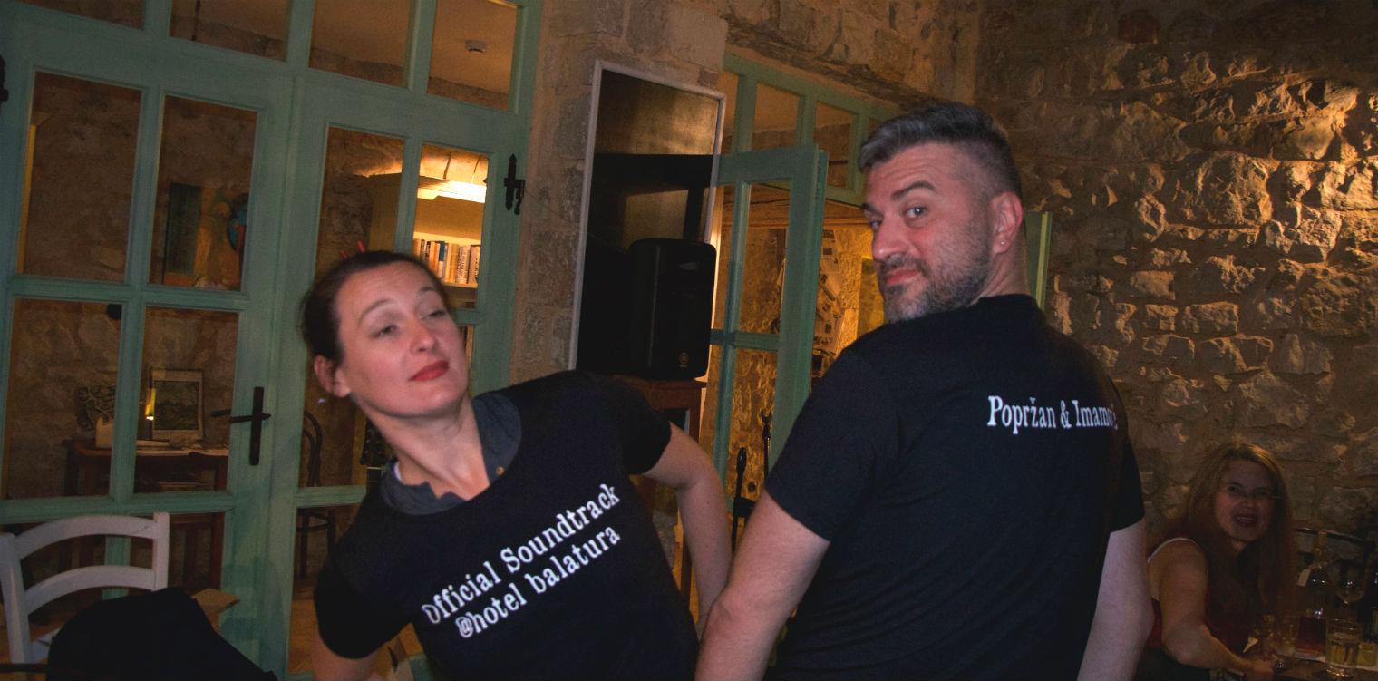 Jelena Popržan & Damir Imamović