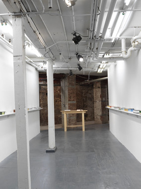 Installation view Here Marinaro, New York