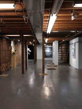 Installation view Indoor Dining Marinaro, New York