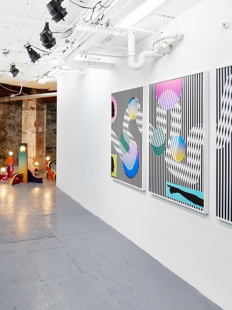 Installation view Lifelike Marinaro, New York