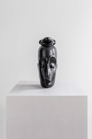 Another Thought, 2020 Epoxy clay and steel 53.75 x 21 x 21 inches  (136.5 x 53.3 x 53.3 cm) Ed. 1/3