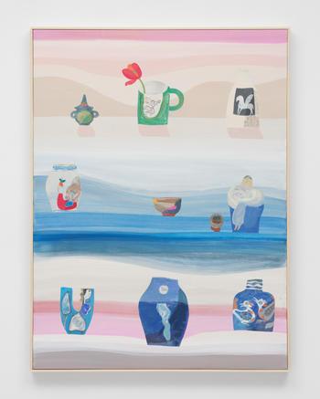 """Pegasus III,"" 2021 Acrylic on canvas 40 x 30 inches 101.6 x 76.2 cm"
