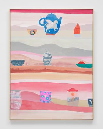 """Pegasus II,"" 2021 Acrylic on canvas 40 x 30 inches 101.6 x 76.2 cm"