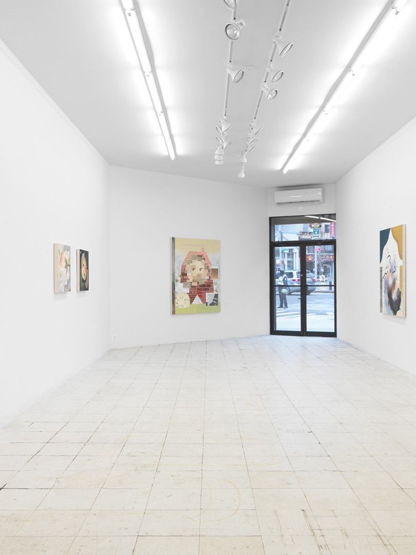 Installation view A Shift in the House Marinaro, New York