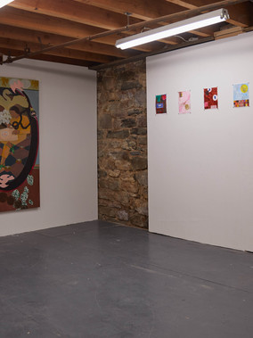 Installation view Honest Gravy Marinaro, New York