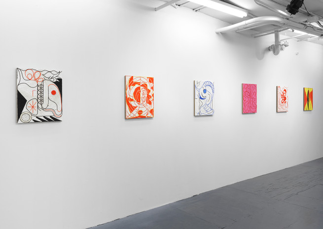 Installation view White Rabbit Marinaro, New York