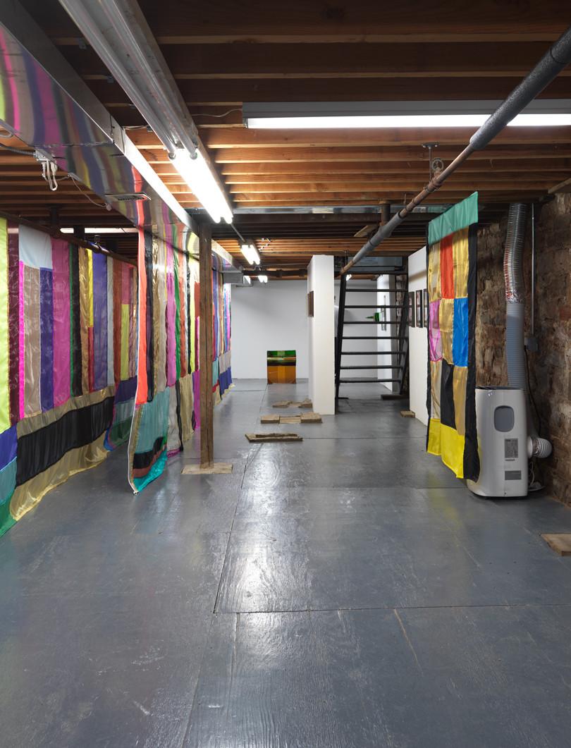 Installation view LMNOP Marinaro, New York
