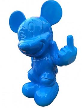 Va te faire Mickey Red Blue