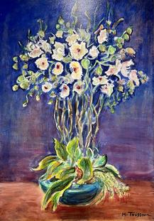 Vase d'Orchidées
