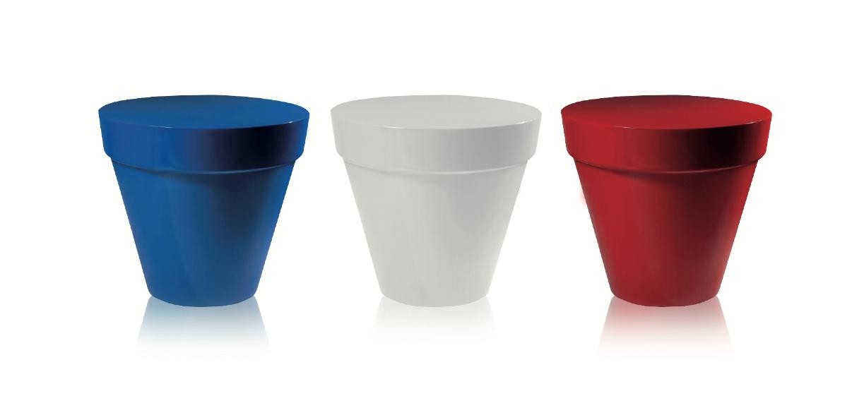 Les Pots Bleu Blanc Rouge