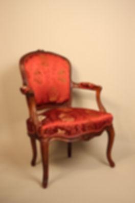 Fauteuil Cabriolet d'époque Louis XV