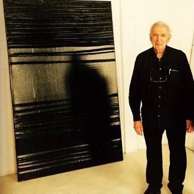 Pierre Soulages 222 x 137 Galerie Leadouze