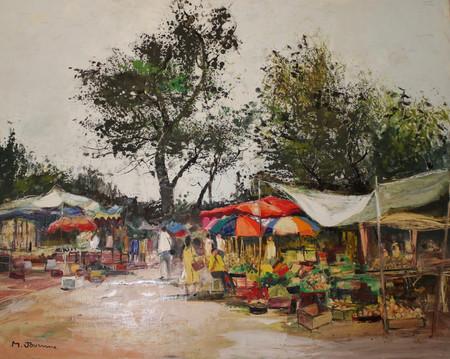 The Market in Martinique
