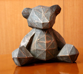 Bronze Teddy Bear