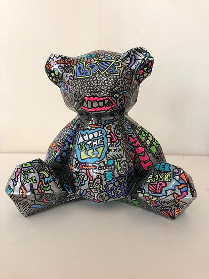 Metal Teddy Bear