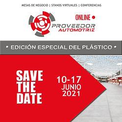 Save the Date PA2021 Plástico Nueva Fech