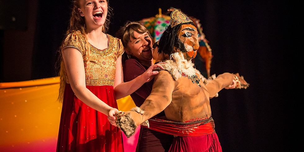 Leicester: Hanuman Moves a Mountain and Attempts to Eat the Sun