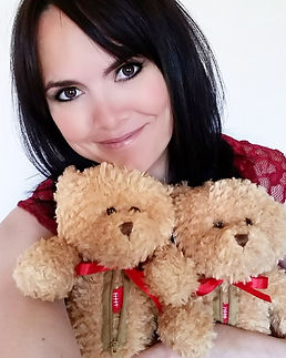 Teddy Bears with mended heart