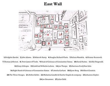 Carpe Diem East Wall Legend