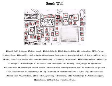 Carpe Diem South Wall Legend