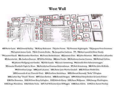 Carpe Diem West Wall Legend