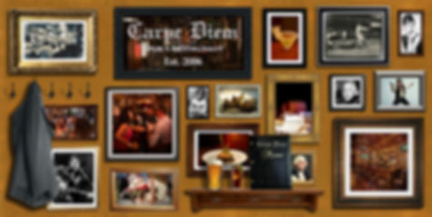 Carpe Diem Bar Homepage