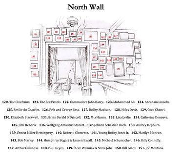 Carpe Diem North Wall Legend