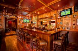 The main bar at Carpe Diem Hoboken
