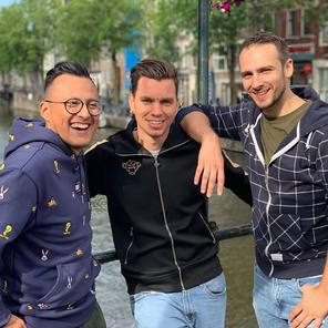 JP, Jose and Daniel
