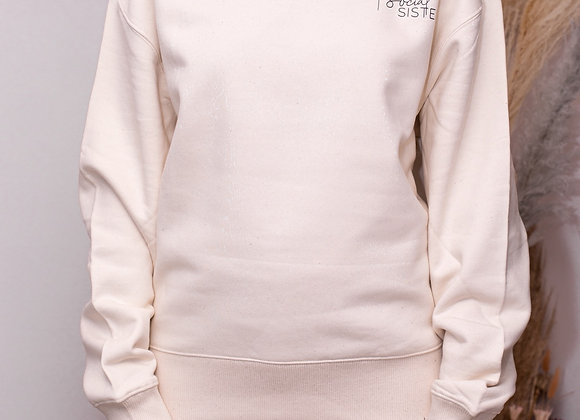 Vanilla Organic Oversized Sweatshirt