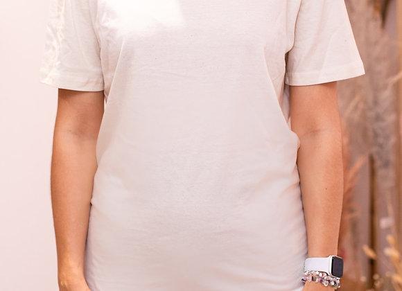 Vanilla Organic Oversized T-Shirt