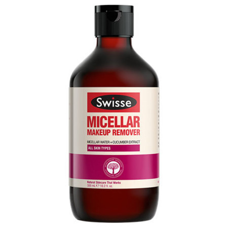 Picture of a bottle of Swisse Micellar Makeup Remover