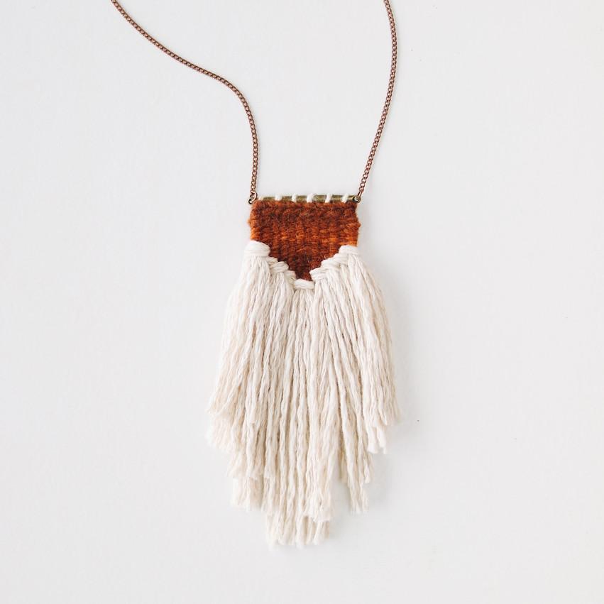 EVA Necklace in Rust