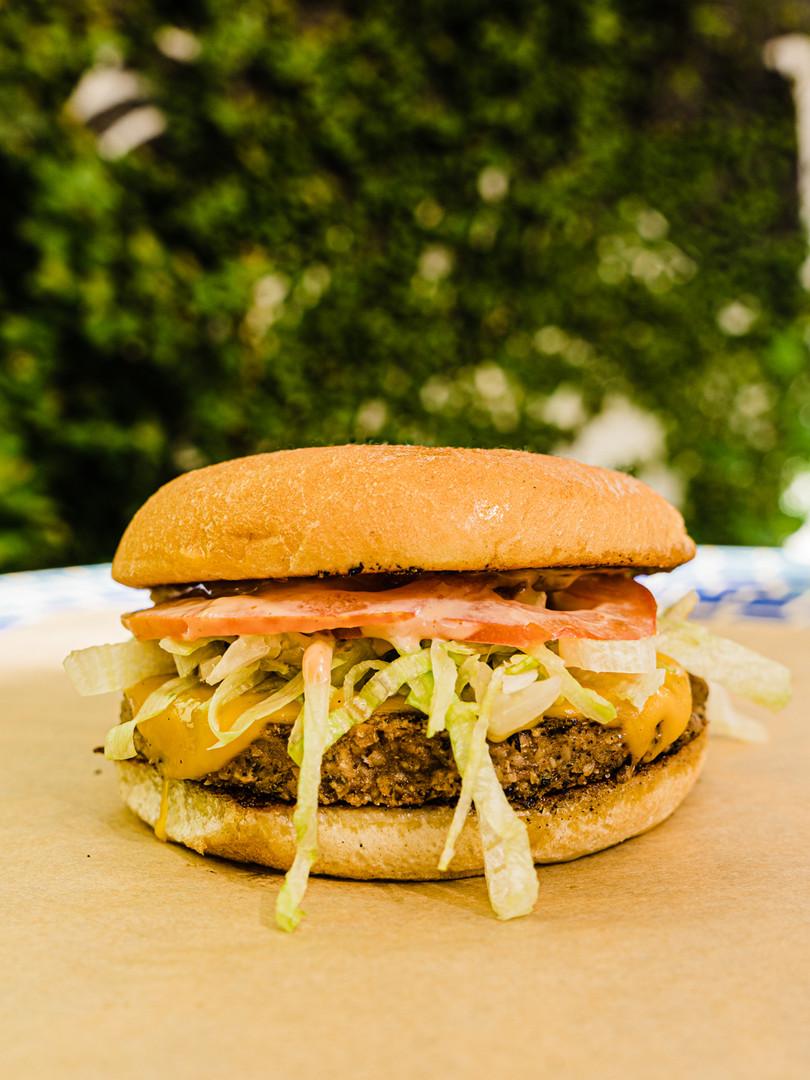 Nom Burgers Veggie Burger