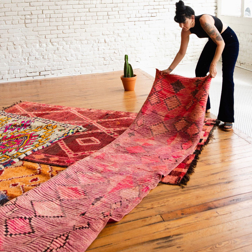 Vintage Moroccon Runners + Rugs