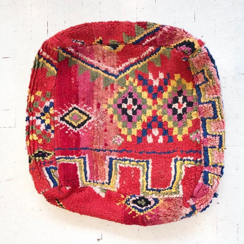 Moroccon Floor Poof