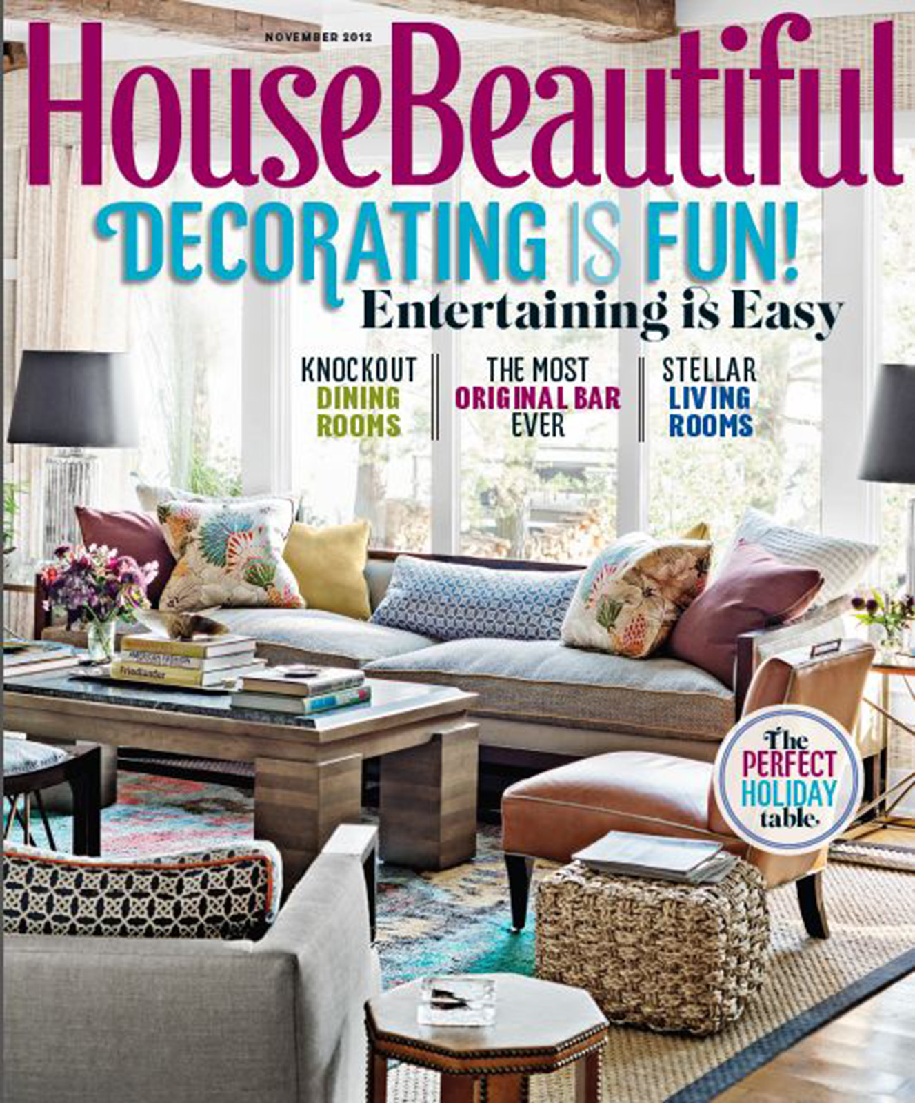 House Beautiful Cover 2012