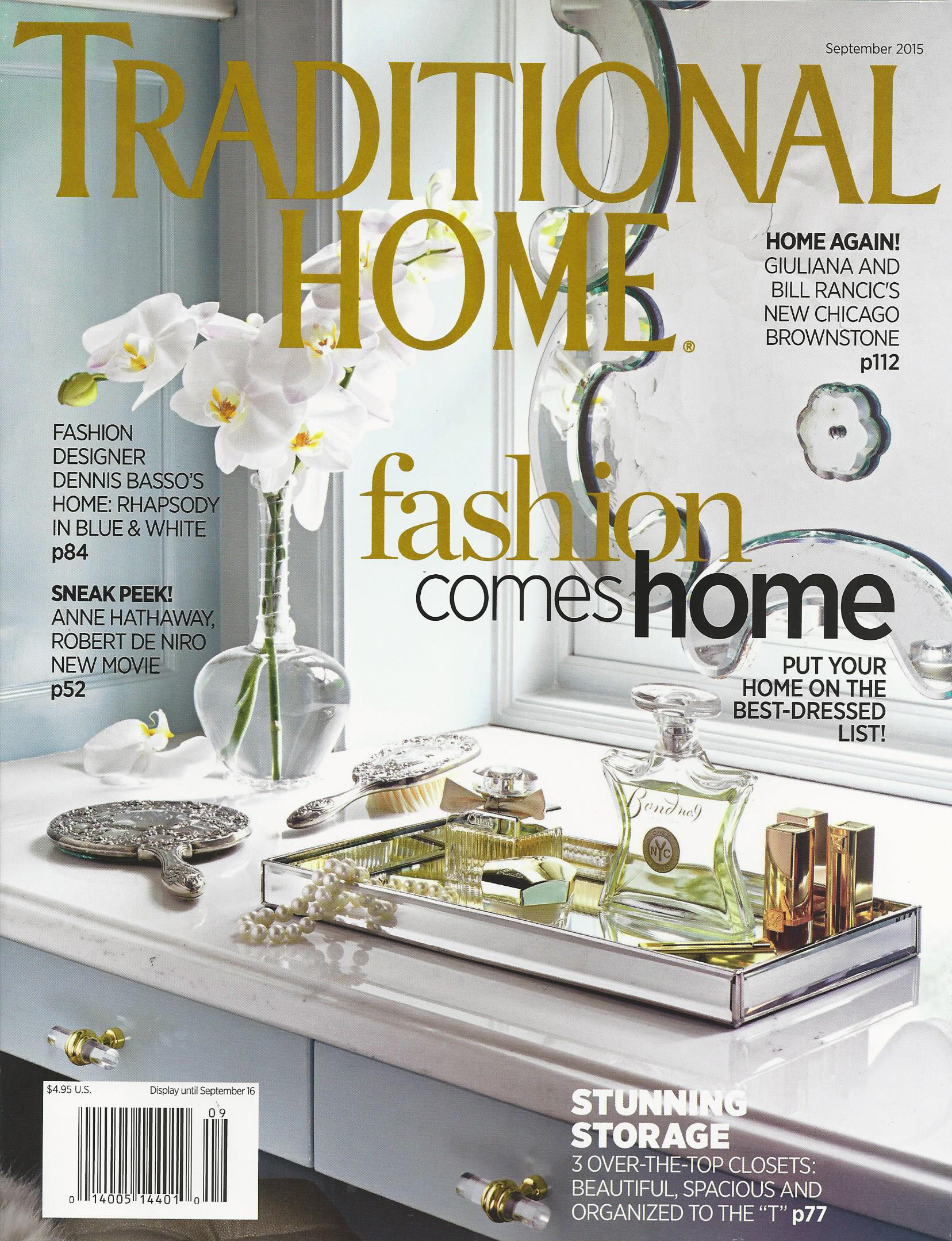 Traditional Home cover 2015