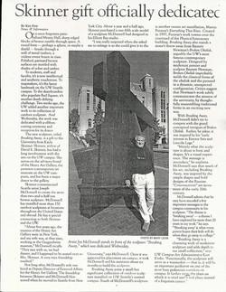 Breaking Away at UW article