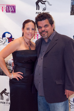 Luis and Jacquelyn at RBRW's NYFW