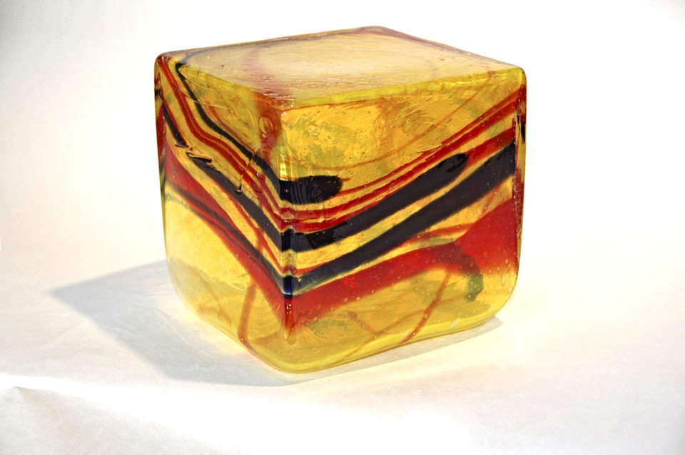 Untitled - Yellow Red and Black