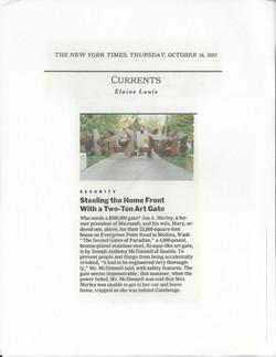 press NY times 2003