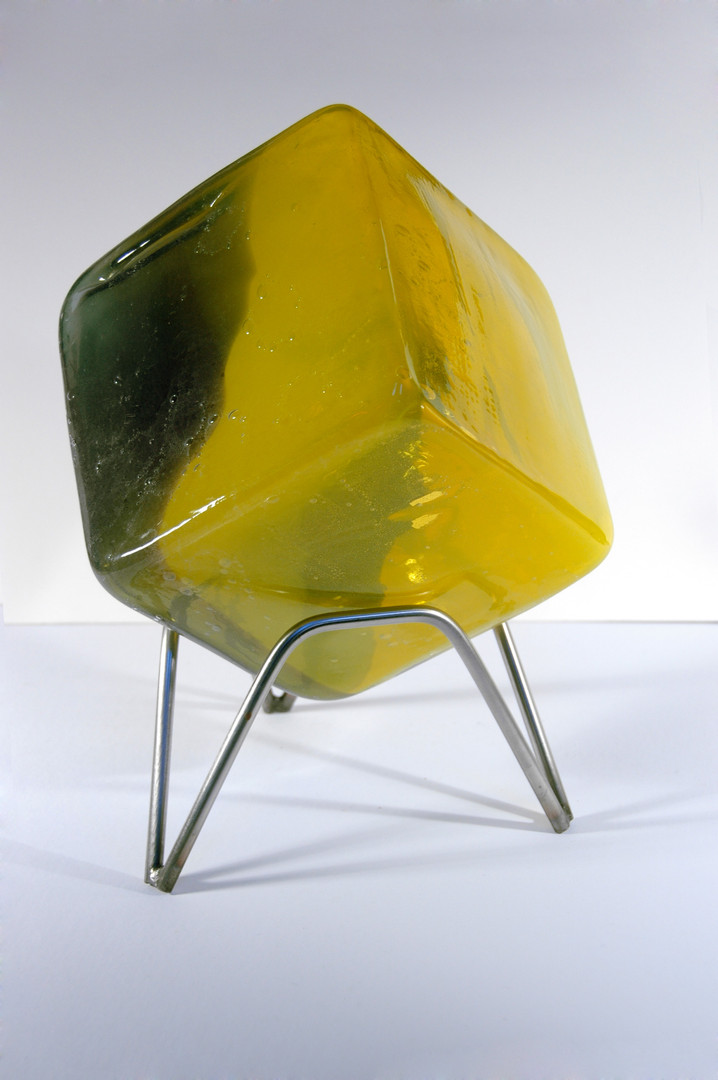 Untitled - Yellow, green and black