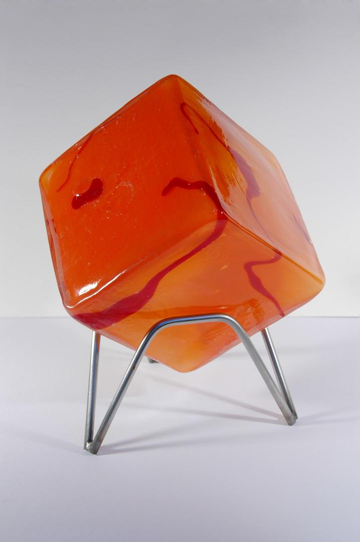 Untitled - Orange & Red