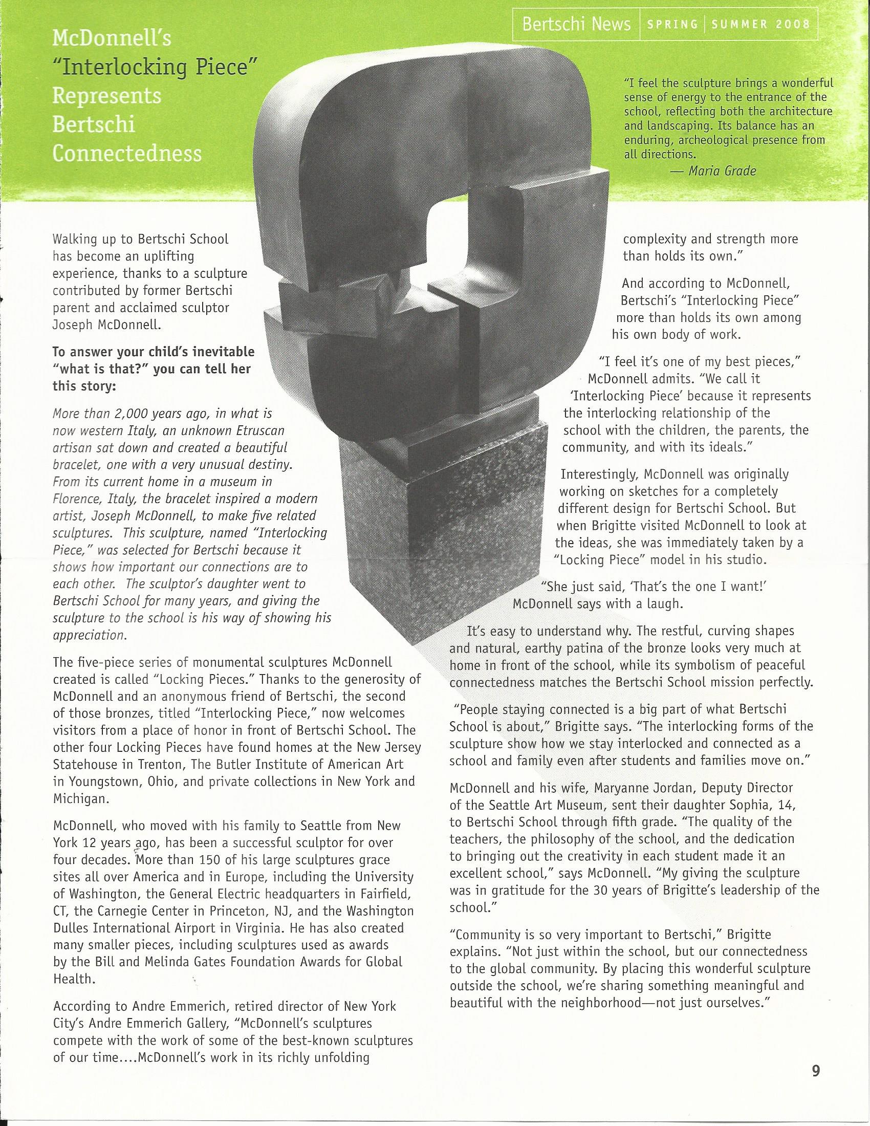 Bertschi News 2008