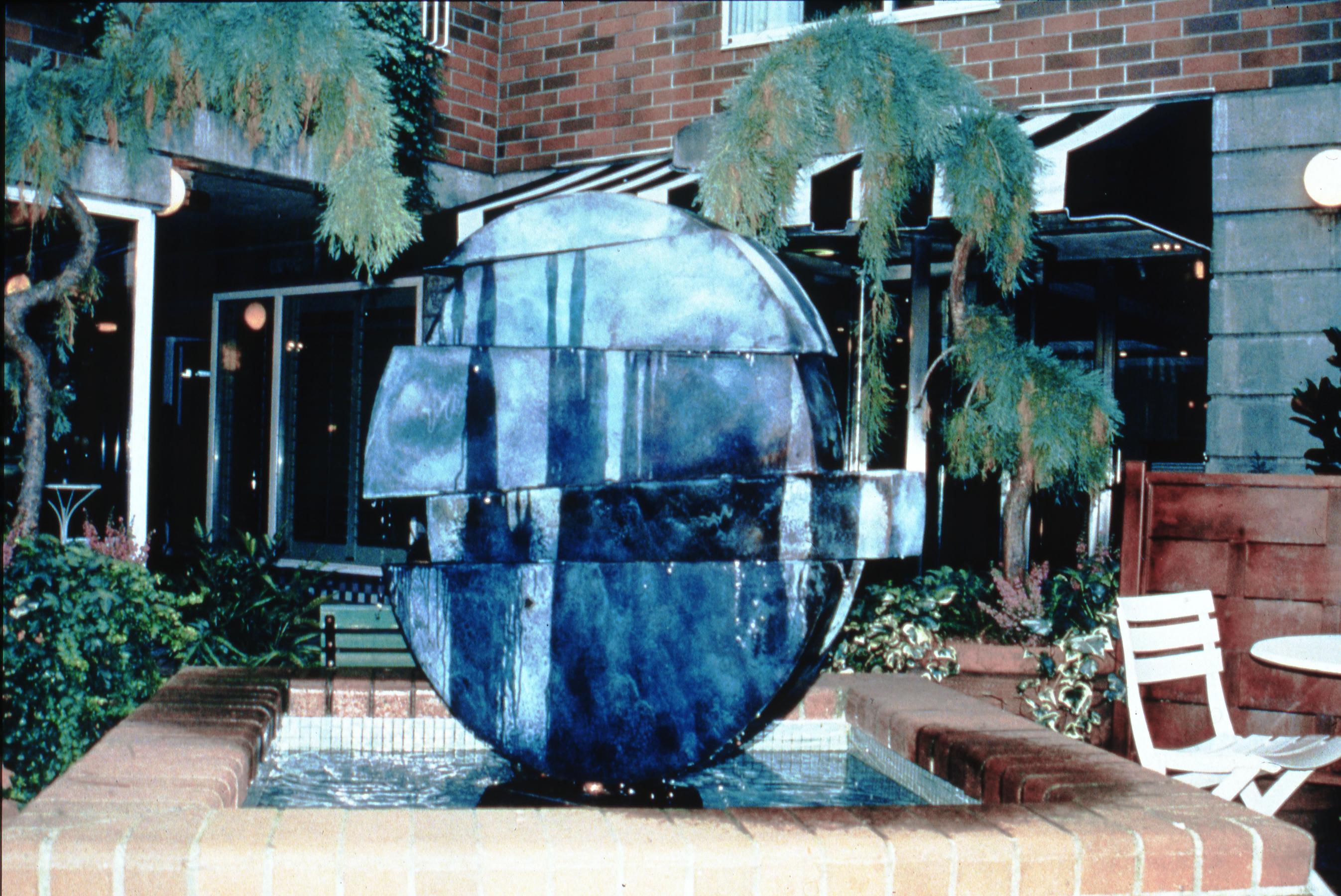 Horizontal Disc Fountain